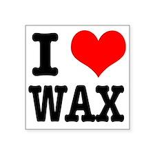 "WAX.png Square Sticker 3"" x 3"""