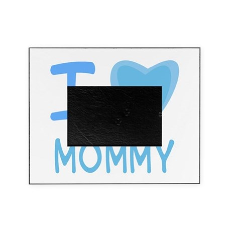 mommy boy.png Picture Frame