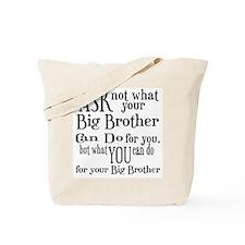Ask Not Big Brother Tote Bag