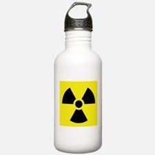 Radioactive Symbol Sports Water Bottle