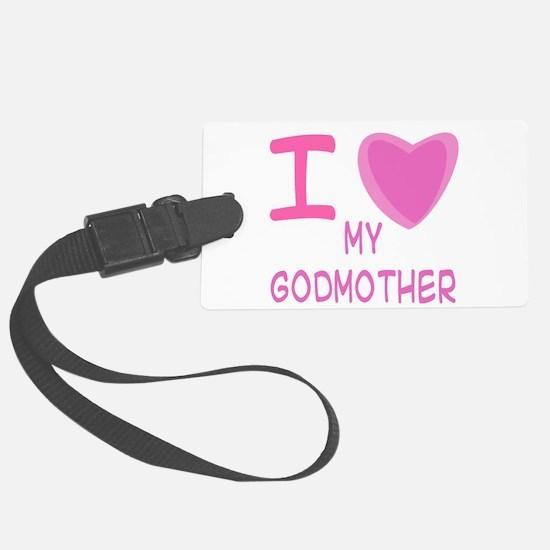 godmother girl.png Luggage Tag