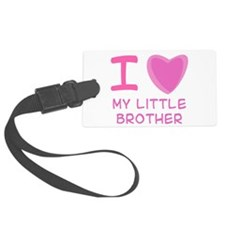 little brother.png Luggage Tag