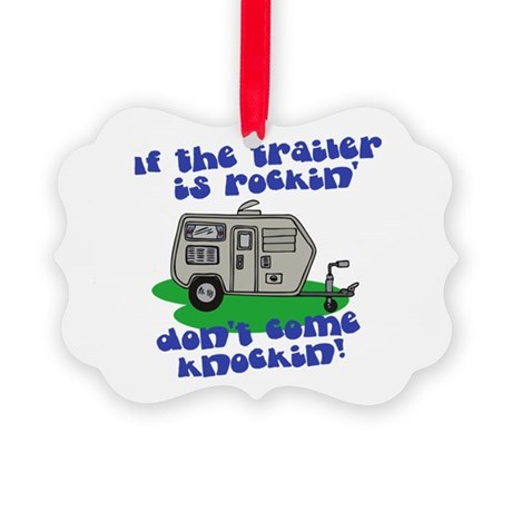 trailer is rockin.png Picture Ornament