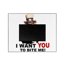 BITE ME.png Picture Frame