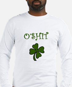 O'Shit Long Sleeve T-Shirt