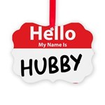 hubby.png Picture Ornament
