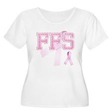FFS initials, Pink Ribbon, T-Shirt