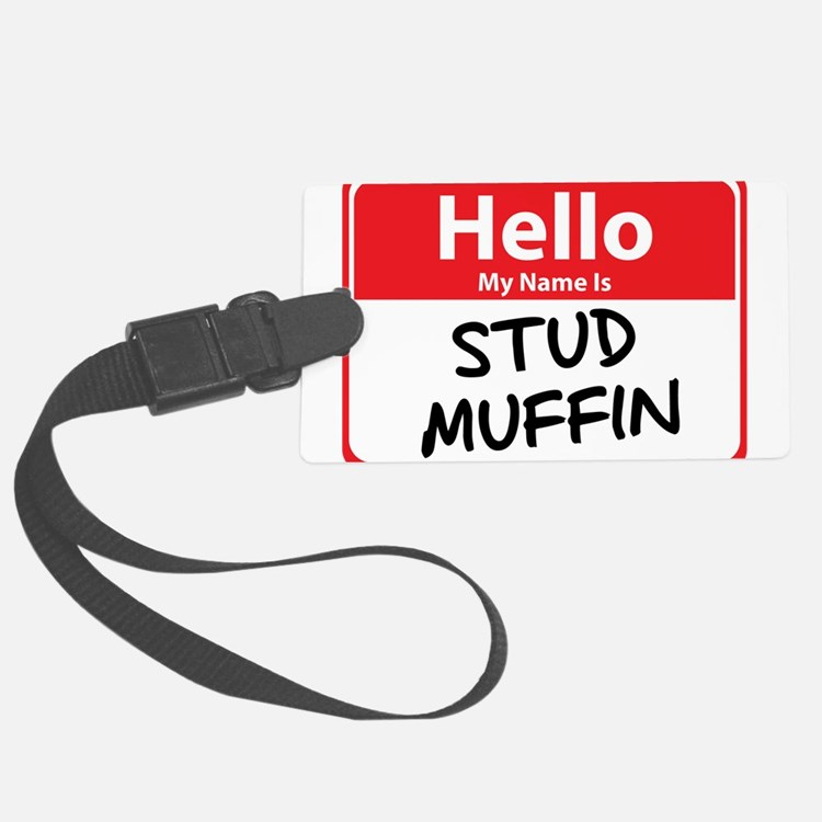 stud muffin.png Luggage Tag