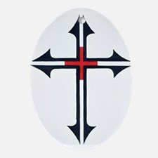 SOLDIER FOR CHRIST Oval Ornament