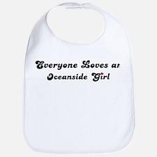 Oceanside girl Bib