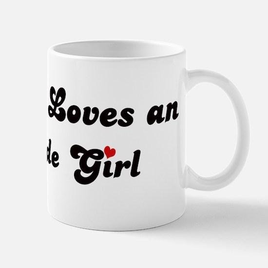 Oceanside girl Mug