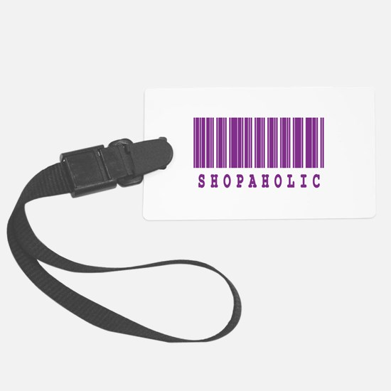 shopaholic.jpg Luggage Tag