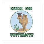 camel toe university copy.png Square Car Magnet 3