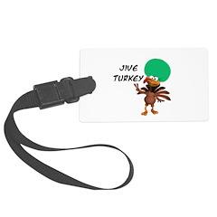 jive turkey.png Luggage Tag