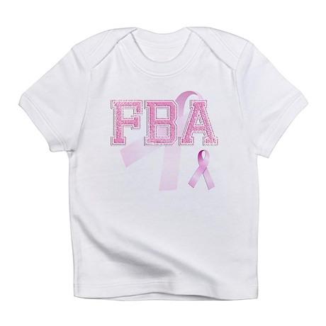 FBA initials, Pink Ribbon, Infant T-Shirt