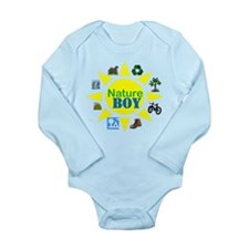 natureboy Long Sleeve Infant Bodysuit