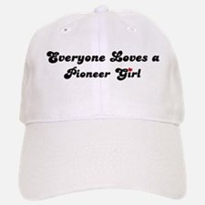 Pioneer girl Baseball Baseball Cap
