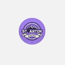 St. Anton Violet Mini Button