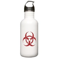 Vintage Biohazard Water Bottle
