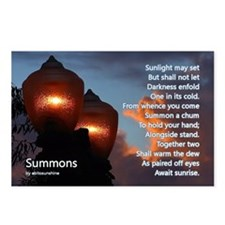 Summons Postcards (Package of 8)