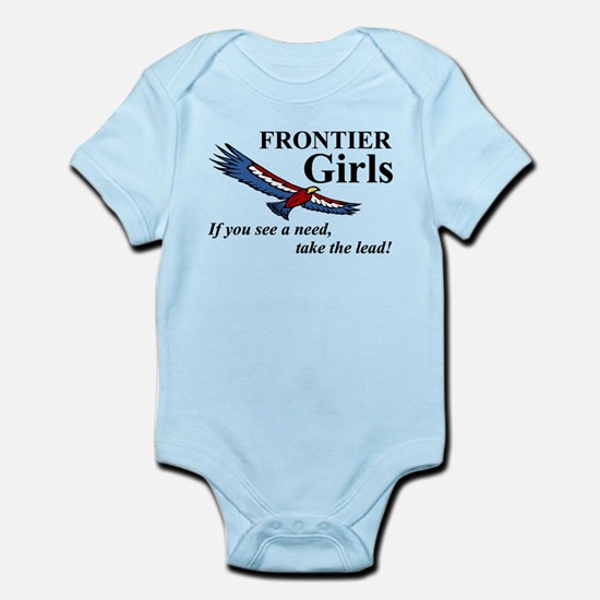 Frontier Girls Motto - Color Infant Bodysuit