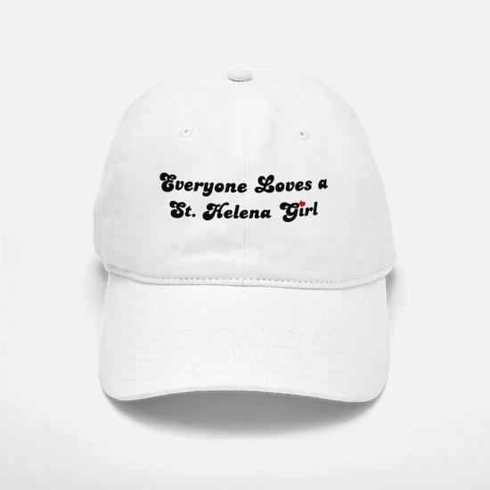 St Helena girl Baseball Baseball Cap