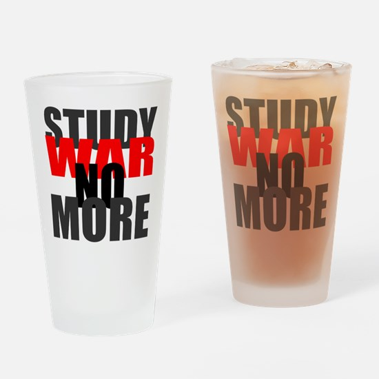 War No More Drinking Glass