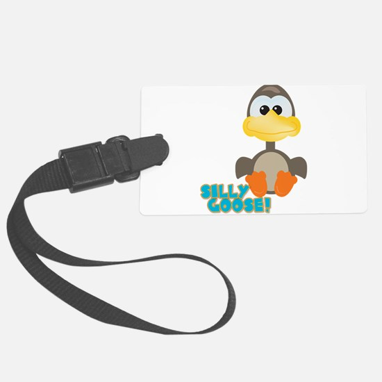 silly goose.png Luggage Tag