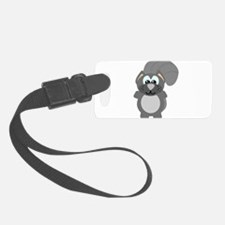 grey squirrel.png Luggage Tag