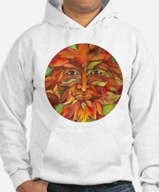 Autumn and Summer Greenman Hoodie