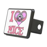 love mice.png Rectangular Hitch Cover