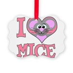 love mice.png Picture Ornament