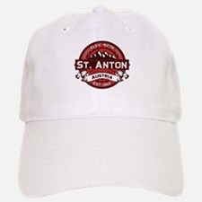 St. Anton Red Baseball Baseball Cap