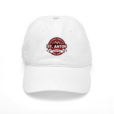 St. Anton Red Baseball Cap