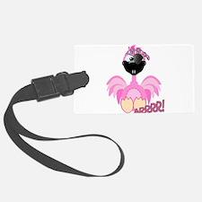 pirate flamingo.png Luggage Tag