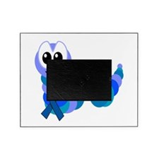 blue ribbon caterpillar copy copy.png Picture Frame
