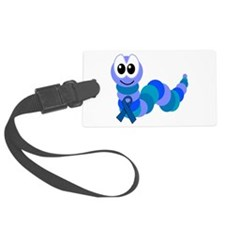 blue ribbon caterpillar copy copy.png Luggage Tag