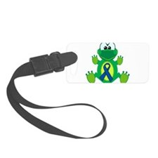blue ribbon froggy copy.png Luggage Tag