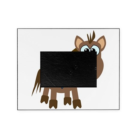 blue ribbon horse copy.png Picture Frame