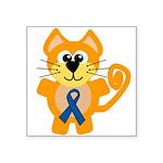 blue ribbon orange kitty cat copy.png Square Stick