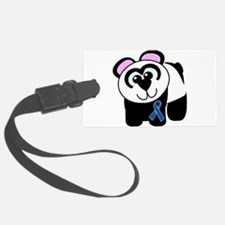blue ribbon panda copy.png Luggage Tag