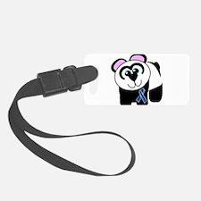 blue ribbon panda copy.png Luggage Tag