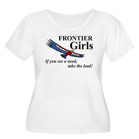 Frontier Girls Motto - Color Women's Plus Size Sco
