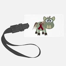 burg ribbon donkey copy.png Luggage Tag