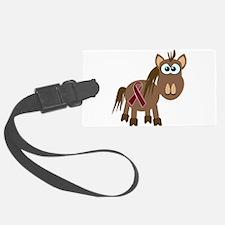 burg ribbon horse.png Luggage Tag