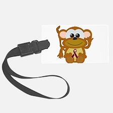 burg ribbon monkey.png Luggage Tag