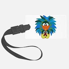 burg ribbon peacock.png Luggage Tag