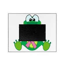 pink ribbon froggy.png Picture Frame