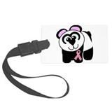 Breast cancer ribbon Luggage Tags