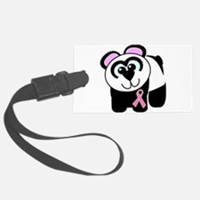 pink ribbon panda.png Luggage Tag